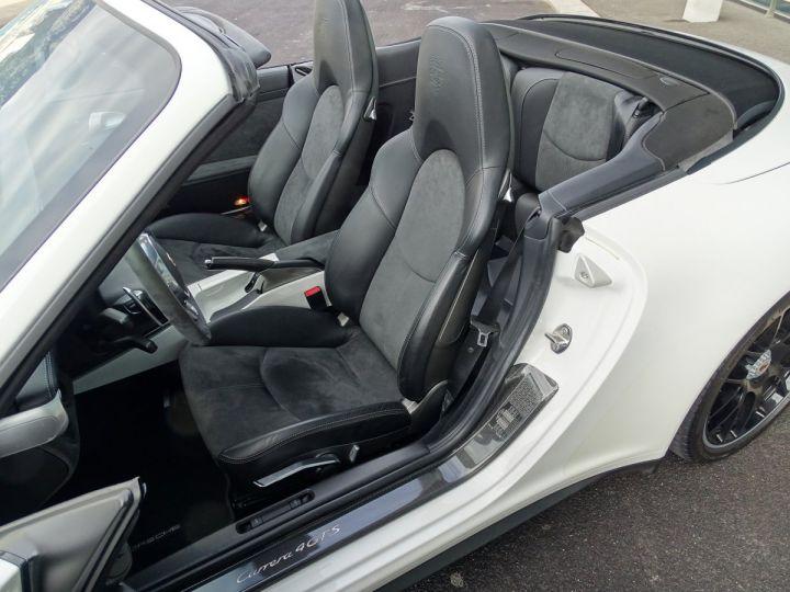 Porsche 911 TYPE 997 CARRERA 4 GTS CABRIOLET PDK 408 CV - MONACO Blanc - 8