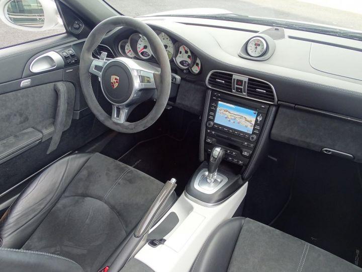 Porsche 911 TYPE 997 CARRERA 4 GTS CABRIOLET PDK 408 CV - MONACO Blanc - 10
