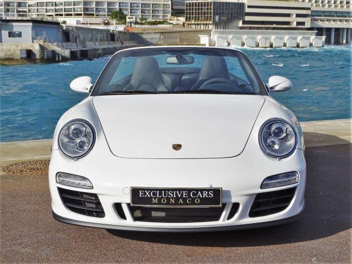 Porsche 911 TYPE 997 CARRERA 4 GTS CABRIOLET PDK 408 CV - MONACO Blanc - 12