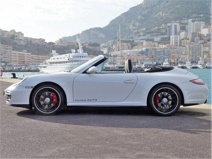 Porsche 911 TYPE 997 CARRERA 4 GTS CABRIOLET PDK 408 CV - MONACO Blanc - 14