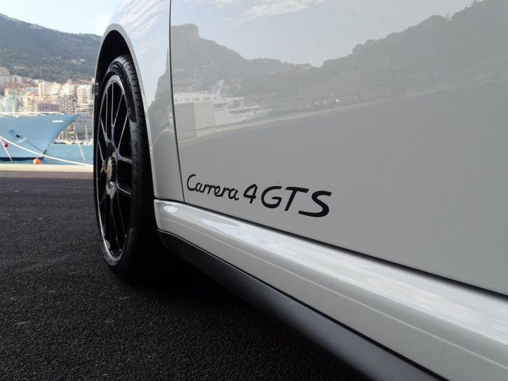 Porsche 911 TYPE 997 CARRERA 4 GTS CABRIOLET PDK 408 CV - MONACO Blanc - 20