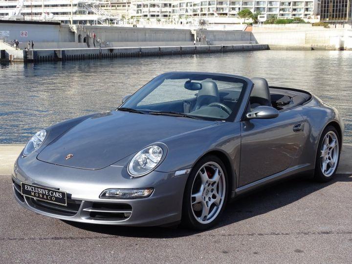 Porsche 911 TYPE 997 CARRERA 4S CABRIOLET - MONACO GRIS METAL - 1