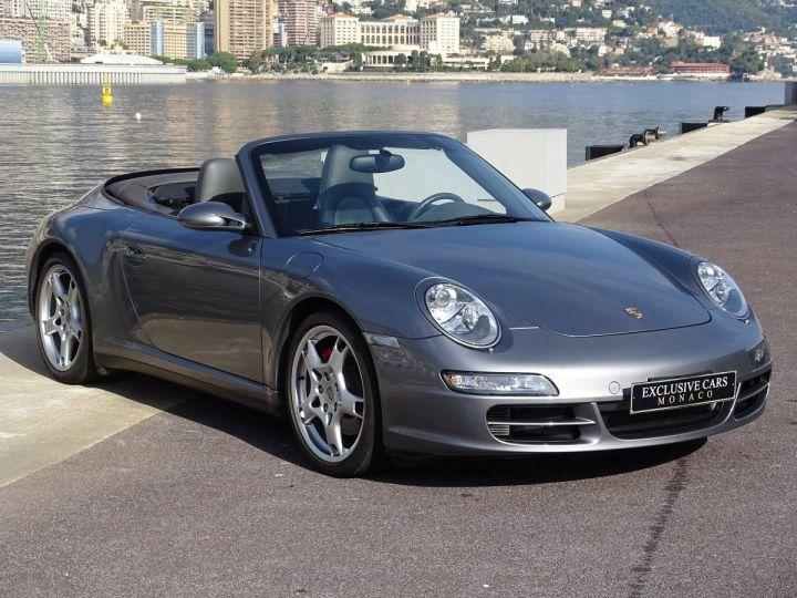 Porsche 911 TYPE 997 CARRERA 4S CABRIOLET - MONACO GRIS METAL - 3