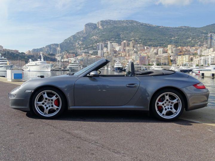 Porsche 911 TYPE 997 CARRERA 4S CABRIOLET - MONACO GRIS METAL - 4