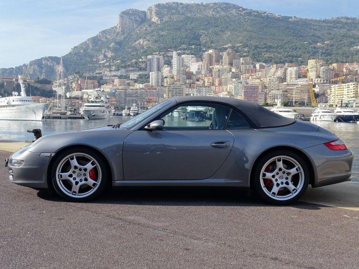 Porsche 911 TYPE 997 CARRERA 4S CABRIOLET - MONACO GRIS METAL - 5