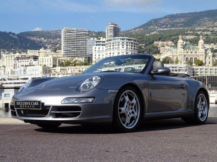 Porsche 911 TYPE 997 CARRERA 4S CABRIOLET - MONACO GRIS METAL - 12