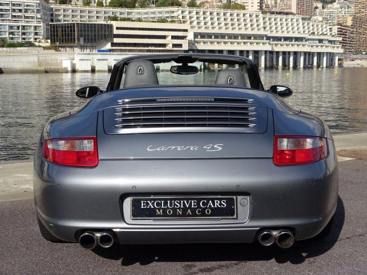 Porsche 911 TYPE 997 CARRERA 4S CABRIOLET - MONACO GRIS METAL - 14