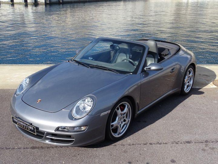 Porsche 911 TYPE 997 CARRERA 4S CABRIOLET - MONACO GRIS METAL - 16