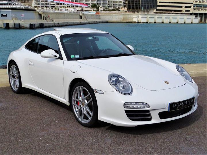 Porsche 911 TYPE 997 CARRERA 4S PDK 385 CV - MONACO BLANC - 3