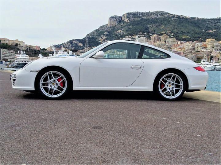 Porsche 911 TYPE 997 CARRERA 4S PDK 385 CV - MONACO BLANC - 5