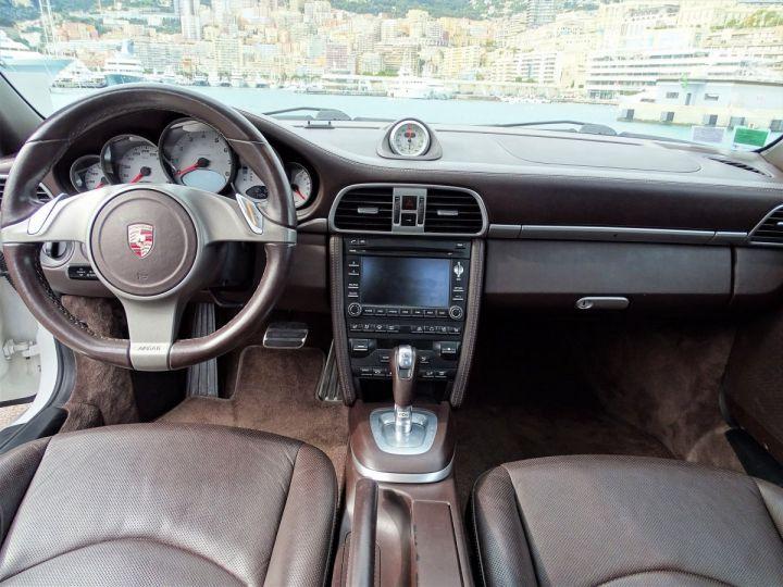Porsche 911 TYPE 997 CARRERA 4S PDK 385 CV - MONACO BLANC - 9
