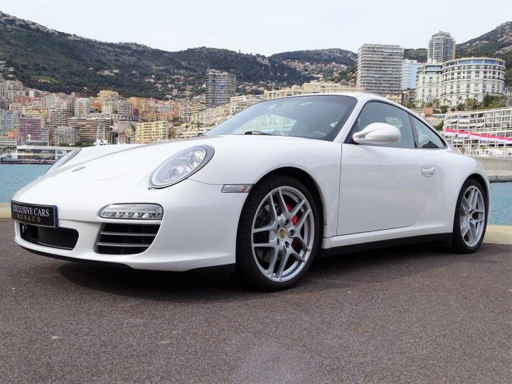 Porsche 911 TYPE 997 CARRERA 4S PDK 385 CV - MONACO BLANC - 12