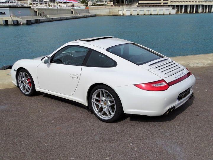 Porsche 911 TYPE 997 CARRERA 4S PDK 385 CV - MONACO BLANC - 16