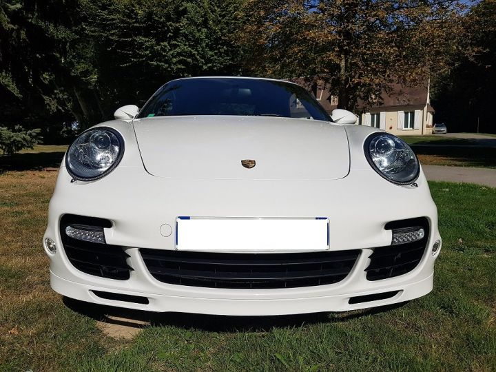 Porsche 911 TYPE 997 TURBO 500 PDK CABRIOLET BLANC  Occasion - 1