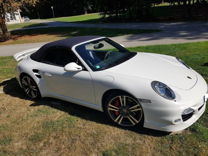 Porsche 911 TYPE 997 TURBO 500 PDK CABRIOLET BLANC  Occasion - 2