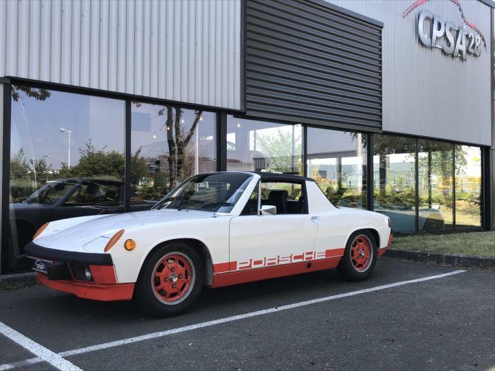 Porsche 914 CAN AM BLANC - 1