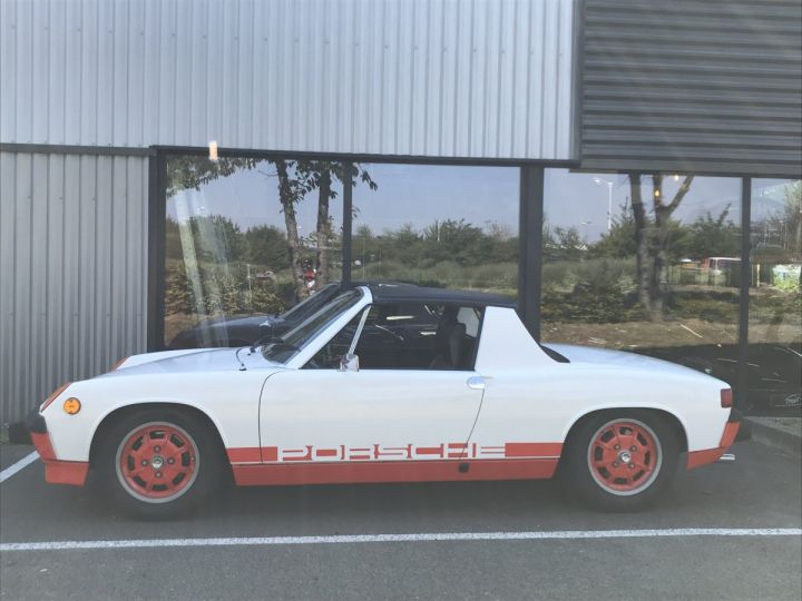 Porsche 914 CAN AM BLANC - 4