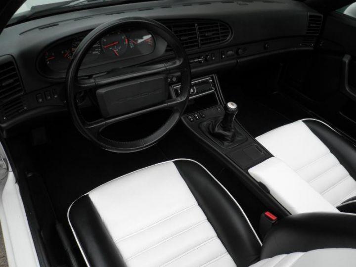 Porsche 944 TURBO CABRIOLET 2.5 250CH Blanc Occasion - 2