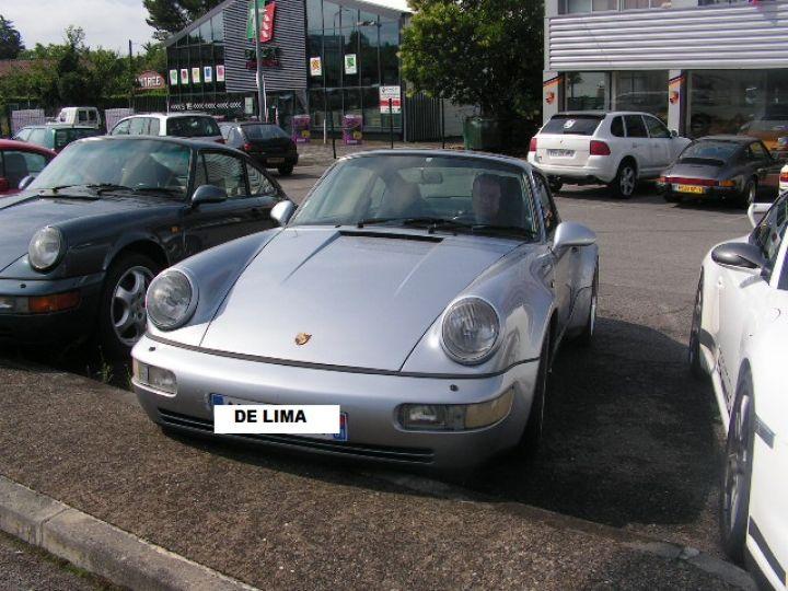 Porsche 964 C4 Turbolook usine RARE Gris - 1
