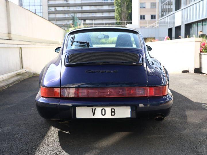 Porsche 964 PORSCHE 964 CARRERA 4 /BVM / TOE / C05 FRANCE / SUPERBE Bleu Nuit - 3