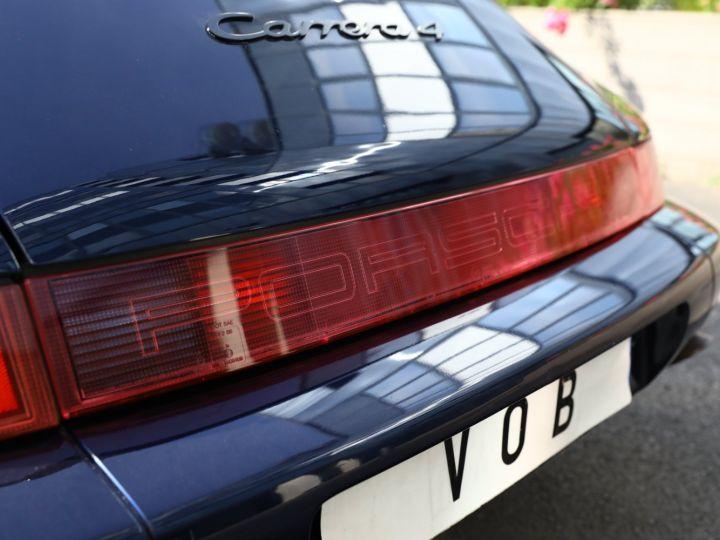 Porsche 964 PORSCHE 964 CARRERA 4 /BVM / TOE / C05 FRANCE / SUPERBE Bleu Nuit - 4