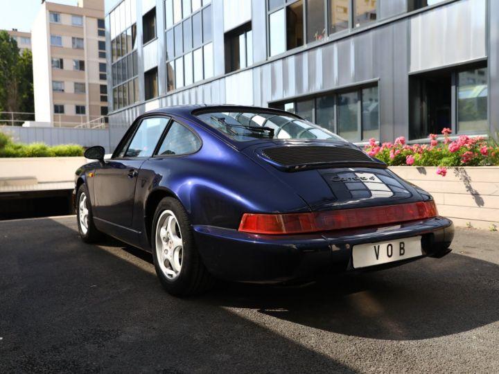 Porsche 964 PORSCHE 964 CARRERA 4 /BVM / TOE / C05 FRANCE / SUPERBE Bleu Nuit - 6