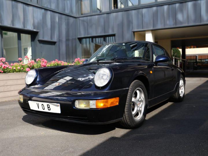 Porsche 964 PORSCHE 964 CARRERA 4 /BVM / TOE / C05 FRANCE / SUPERBE Bleu Nuit - 1
