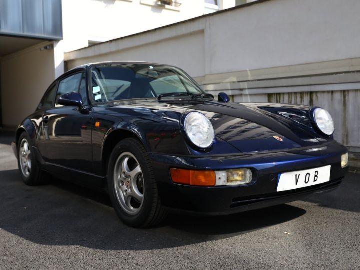 Porsche 964 PORSCHE 964 CARRERA 4 /BVM / TOE / C05 FRANCE / SUPERBE Bleu Nuit - 7