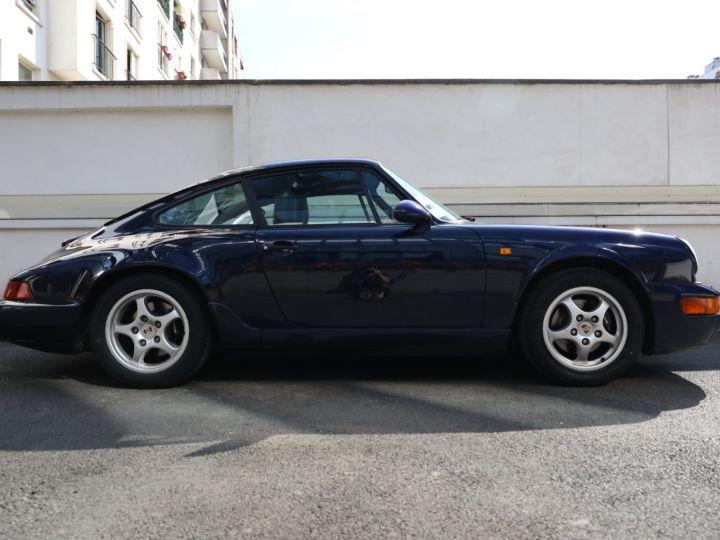 Porsche 964 PORSCHE 964 CARRERA 4 /BVM / TOE / C05 FRANCE / SUPERBE Bleu Nuit - 10