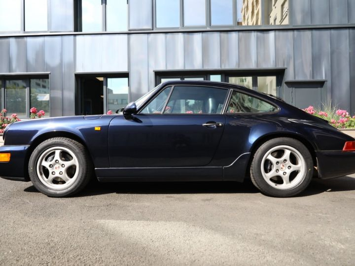Porsche 964 PORSCHE 964 CARRERA 4 /BVM / TOE / C05 FRANCE / SUPERBE Bleu Nuit - 9