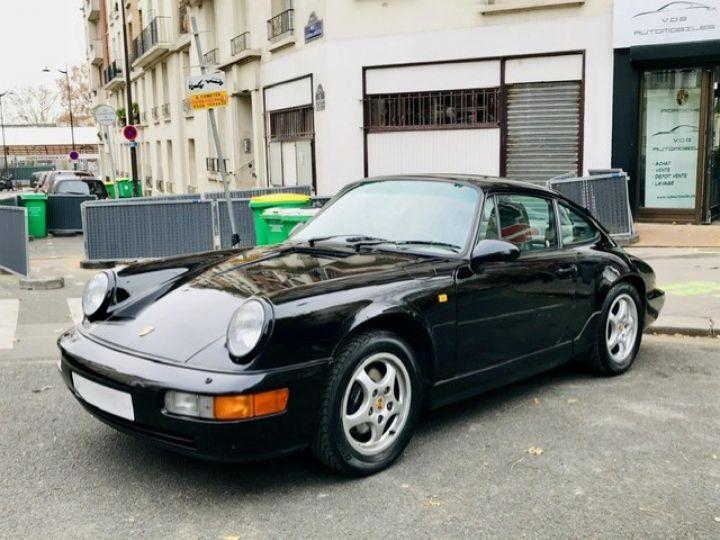 Porsche 964 PORSCHE 964 CARRERA 4 / ETAT CONCOURS Noir - 1