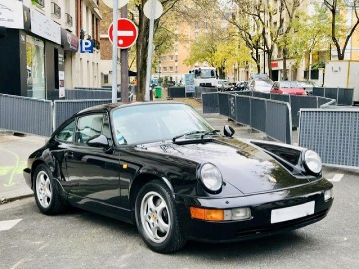 Porsche 964 PORSCHE 964 CARRERA 4 / ETAT CONCOURS Noir - 3
