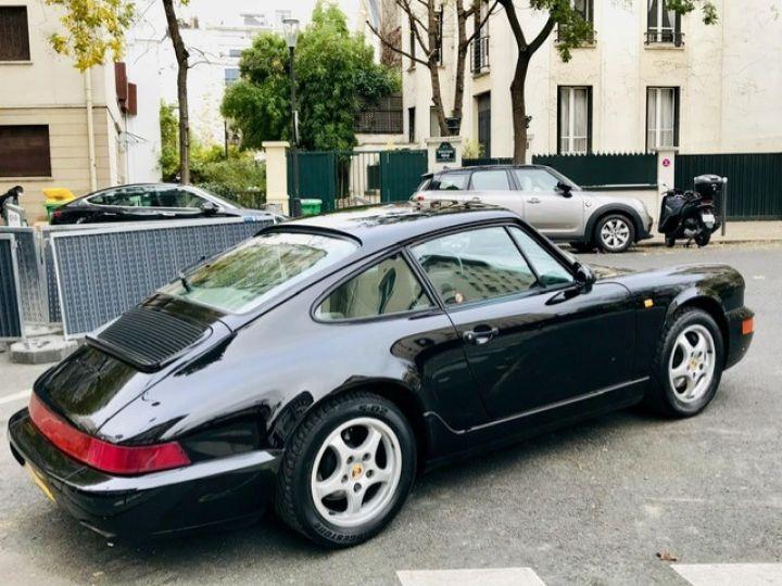 Porsche 964 PORSCHE 964 CARRERA 4 / ETAT CONCOURS Noir - 6
