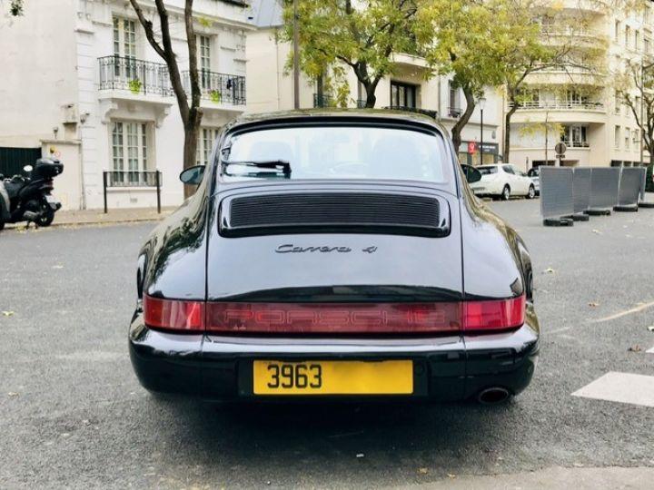 Porsche 964 PORSCHE 964 CARRERA 4 / ETAT CONCOURS Noir - 8