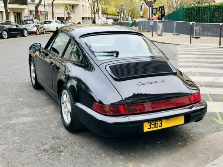 Porsche 964 PORSCHE 964 CARRERA 4 / ETAT CONCOURS Noir - 9