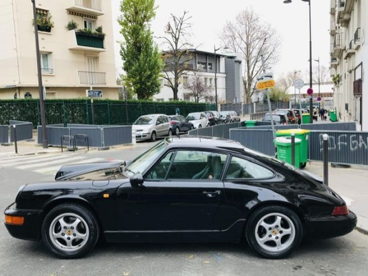 Porsche 964 PORSCHE 964 CARRERA 4 / ETAT CONCOURS Noir - 11