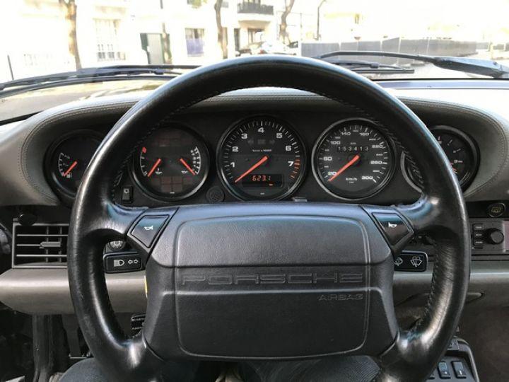 Porsche 964 PORSCHE 964 CARRERA 4 / ETAT CONCOURS Noir - 15