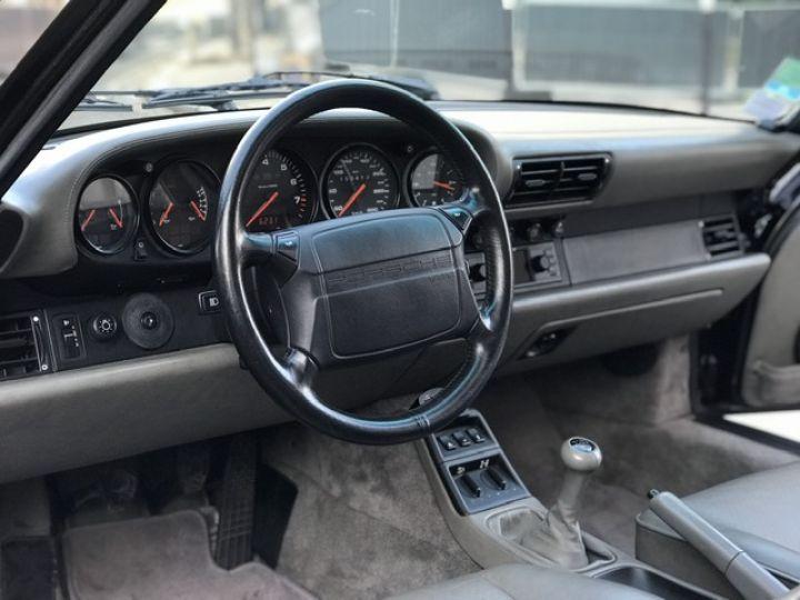Porsche 964 PORSCHE 964 CARRERA 4 / ETAT CONCOURS Noir - 20