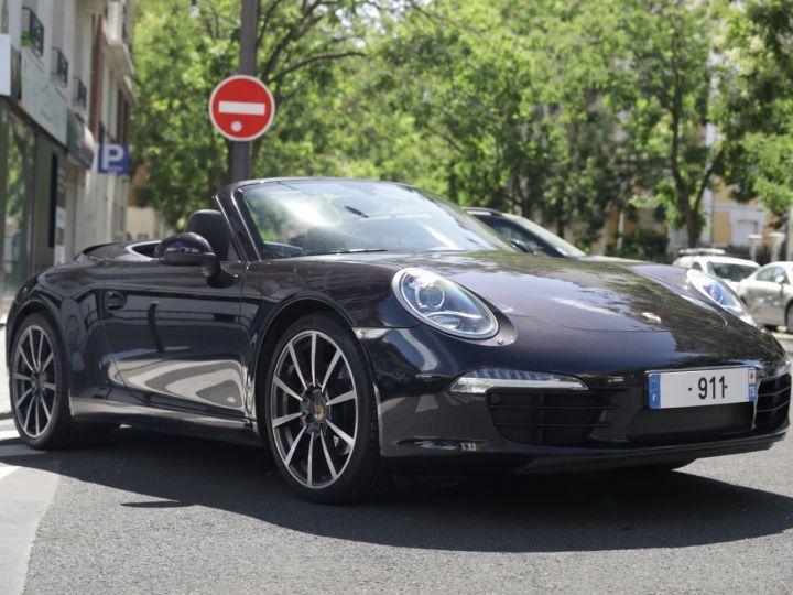 Porsche 991 991 CABRIOLET PDK 350 Noir - 1