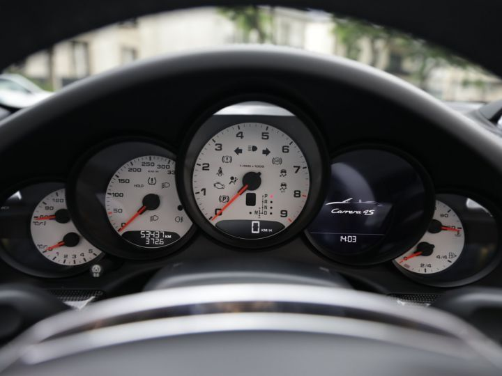 Porsche 991 991 CARRERA 4S CABRIOLET PDK AAPROVED 06/2021 Noir - 12