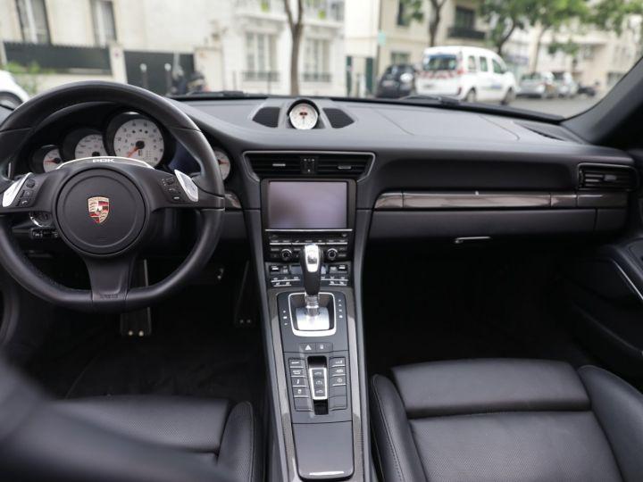Porsche 991 991 CARRERA 4S CABRIOLET PDK AAPROVED 06/2021 Noir - 15