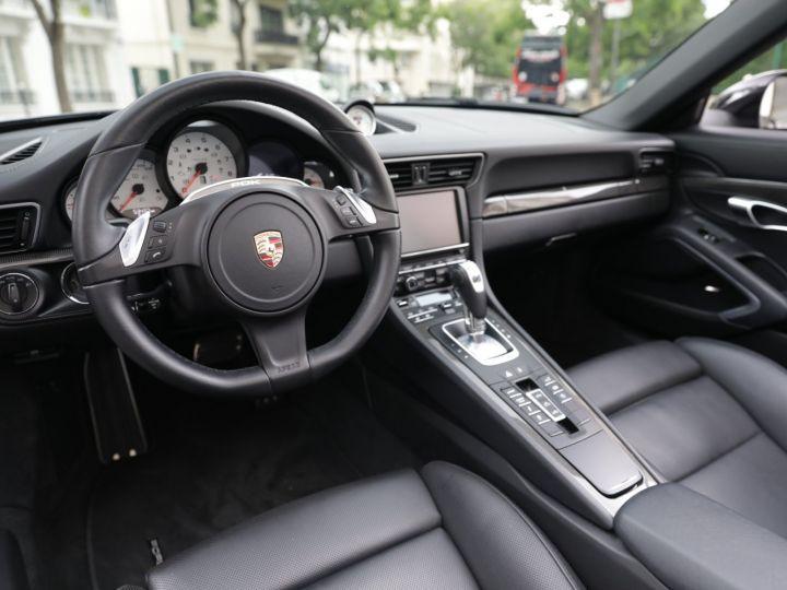 Porsche 991 991 CARRERA 4S CABRIOLET PDK AAPROVED 06/2021 Noir - 13
