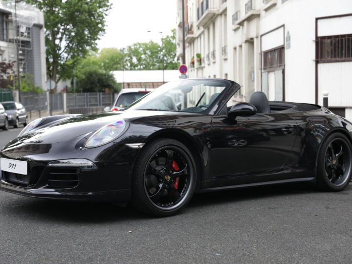 Porsche 991 991 CARRERA 4S CABRIOLET PDK AAPROVED 06/2021 Noir - 2
