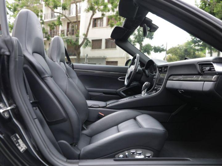 Porsche 991 991 CARRERA 4S CABRIOLET PDK AAPROVED 06/2021 Noir - 27