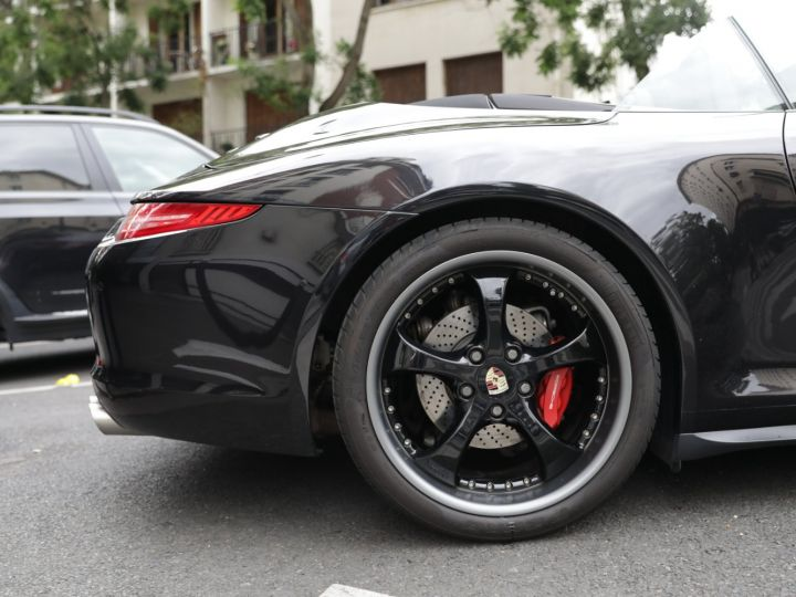 Porsche 991 991 CARRERA 4S CABRIOLET PDK AAPROVED 06/2021 Noir - 6
