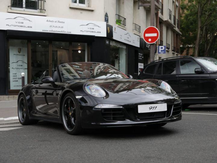 Porsche 991 991 CARRERA 4S CABRIOLET PDK AAPROVED 06/2021 Noir - 1