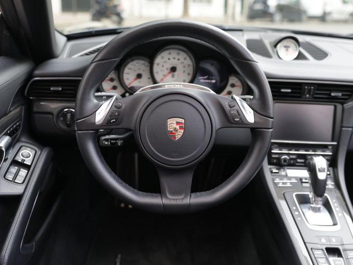 Porsche 991 991 CARRERA 4S CABRIOLET PDK AAPROVED 06/2021 Noir - 14