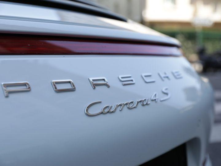 Porsche 991 991 CARRERA 4S PDK 400CV Blanc - 14