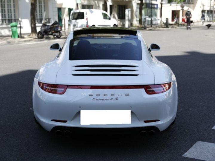 Porsche 991 991 CARRERA 4S PDK 400CV Blanc - 3