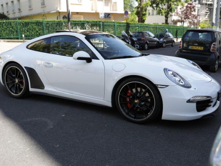Porsche 991 991 CARRERA 4S PDK 400CV Blanc - 8